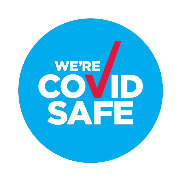 COVID-SAFE BADGE