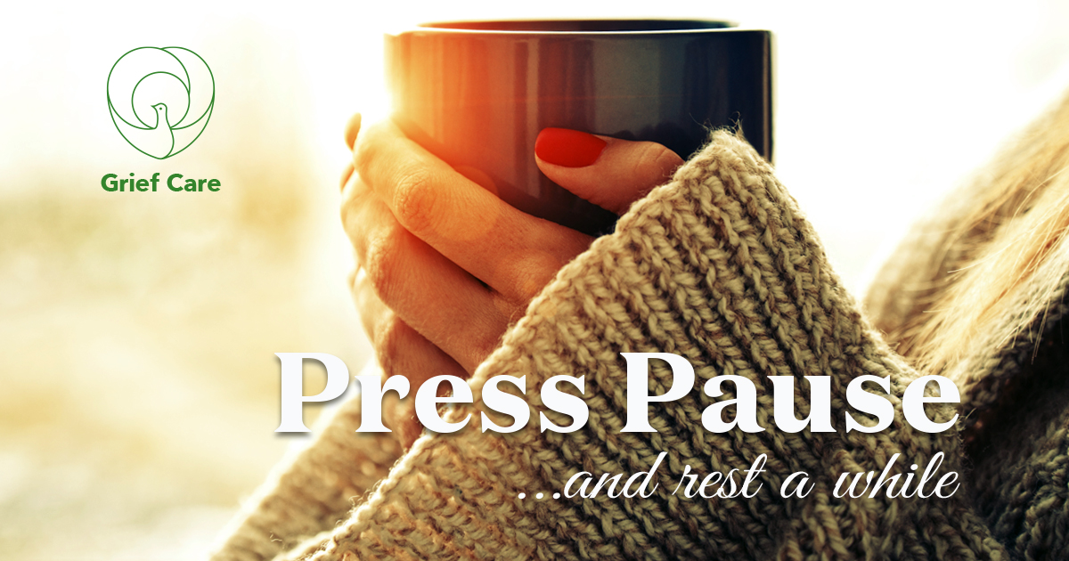 Press Pause and rest awhile